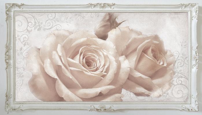 Cornice-bianca/-shabby-con-natura-morta-142x82cm